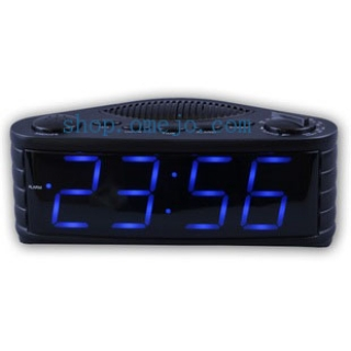 720P HD FM Radio Camera Spy Alarm Clock Radio Hidden Spy Camera DVR 16GB